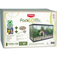 Uitgeruste Tyrol Aquarium uitgerust Pack 40, 20L
