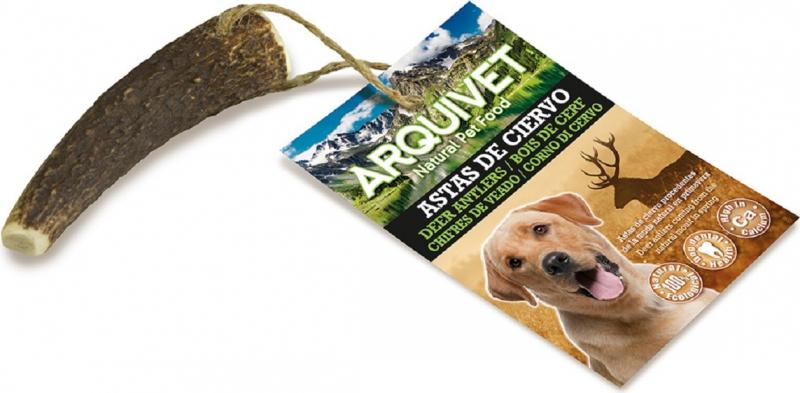 Bois de Cerf Naturel ARQUIVET - 4 tailles disponibles
