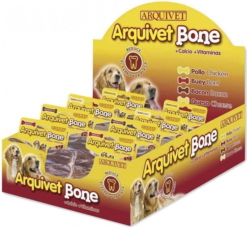 Os à mâcher ARQUIVET Bone - 4 saveurs au choix