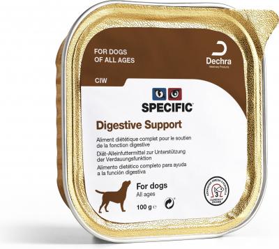 Pâtées SPECIFIC CIW Digestive Support pour Chien Adulte Sensible - 2 formats disponibles
