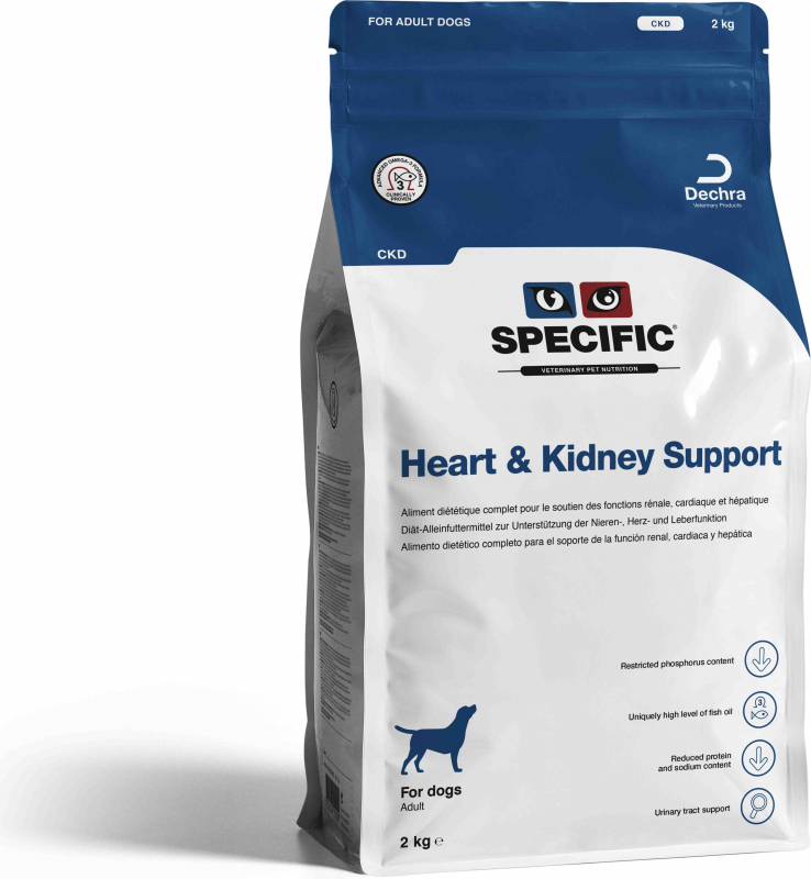 SPECIFIC CKD Heart & Kidney Support pour Chien Adulte