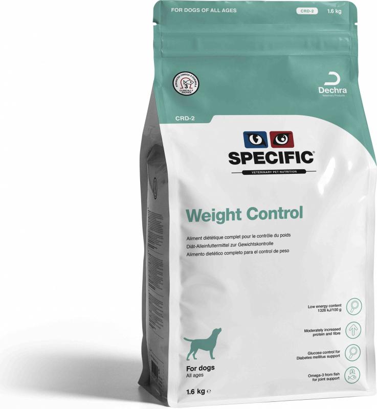 SPECIFIC CRD-2 Weight Control pour Chien Adulte en Surpoids