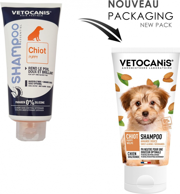 Vetocanis Shampoing pour chiot
