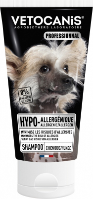 Vétocanis Shampooing Hypoallergénique pour chien