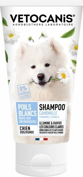 Vétocanis Shampoo Für Hunde mit hellem Fell