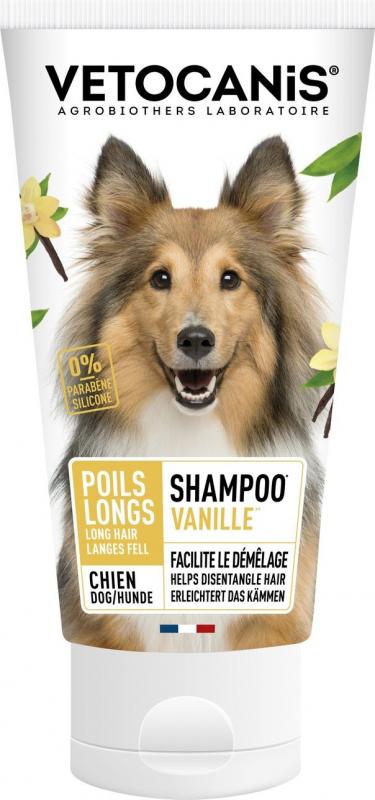 Vetocanis Shampooing pour Chiens aux poils longs