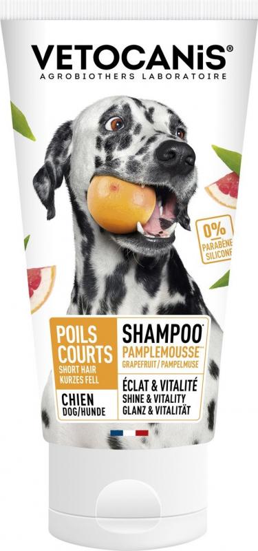 Vétocanis Shampooing pour chiens aux poils ras