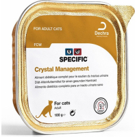 Pack de 7 Pâtées SPECIFIC FCW Crystal Management 100g pour Chat Adulte