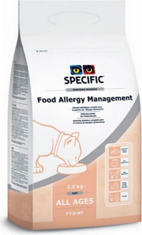 SPECIFIC FDD-HY Food Allergen Management pour Chat Adulte Sensible