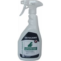 Vetocanis spray antiparasitaire pour chien et chat