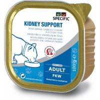 Pack de 7 Pâtées SPECIFIC FKW Kidney Support 100g pour Chat Adulte