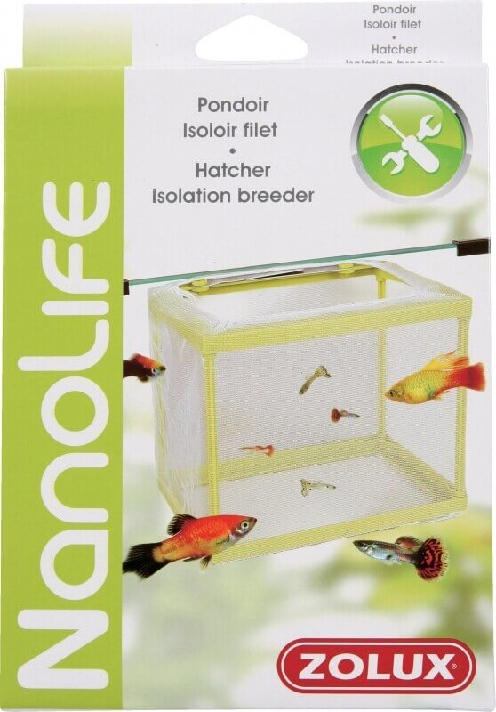 Pondoir filet pour reproduction de poisson en aquarium