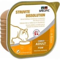 Pack de 7 Pâtées SPECIFIC FSW Struvite Dissolution 100g pour Chat Adulte