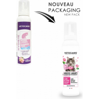 Vétocanis Mousse lavante pour chat
