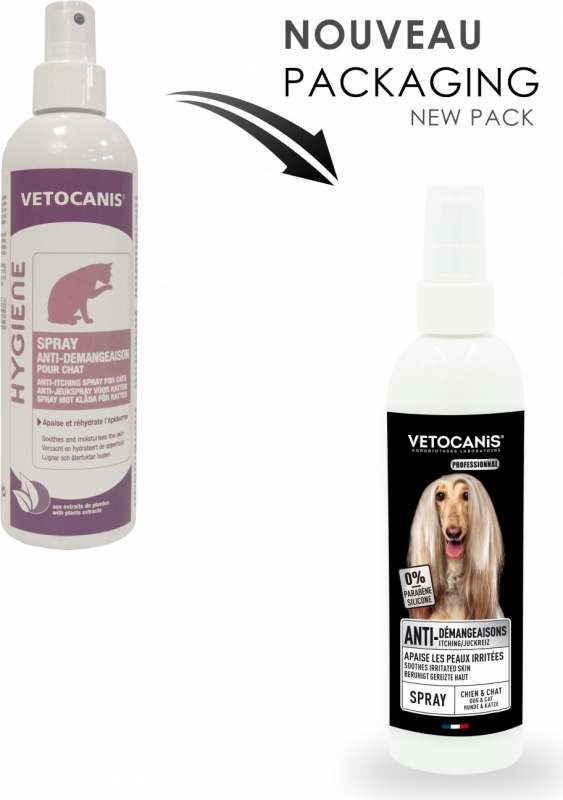 Vetocanis spray antipicores para gato