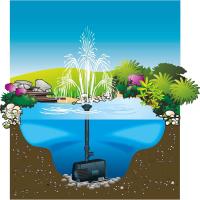 UBBINK Xtra pompe avec jets d'eau pour bassin