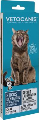 Vetocanis Dental Sticks Plak Fighter voor katten