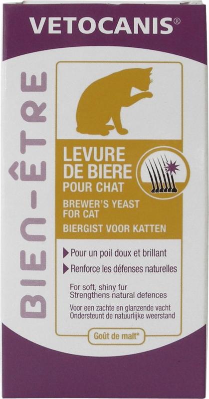 Vétocanis levure de bière chat