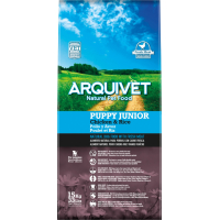 ARQUIVET Puppy & Junior au Poulet & Riz pour Chiot