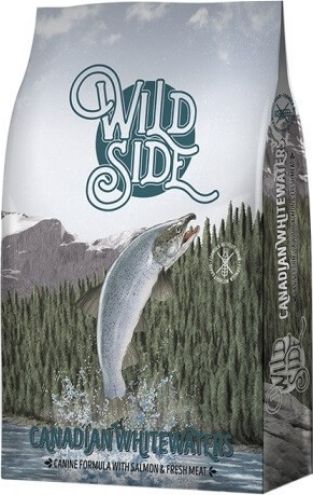 WILD SIDE Canadian Whitewaters au Saumon Sans Céréales pour Chien Adulte