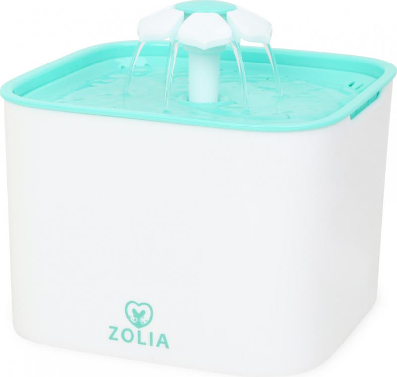 Zolia Flower Falls - 2L - Fontaine à eau pour chat et petit chien
