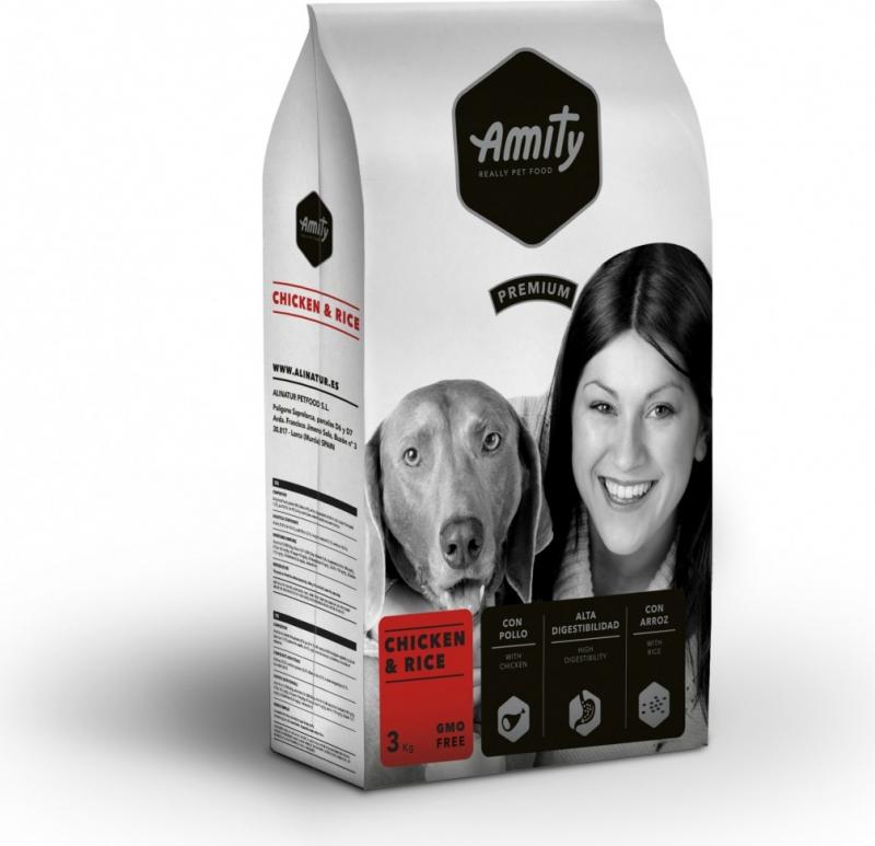 AMITY Premium Adulte Poulet & Riz pour Chien Adulte