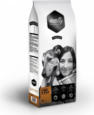 AMITY Premium Adulte Agneau & Riz pour Chien Adulte