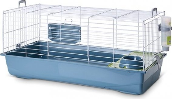 Cage pour lapins et cobayes Nero 3 Deluxe Earth - 100cm