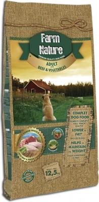 FARM NATURE Boeuf, Poulet & Légumes pour Chien Adulte