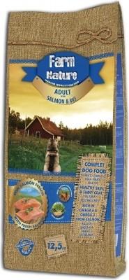 FARM NATURE Saumon & Riz pour Chien Adulte Sensible