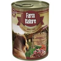 Patè FARM NATURE Cinghiale, Verdure & Aneto Senza Cereali per Cani Adulti - 2 formati disponibili