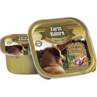 Pâtée FARM NATURE Oie, Brocolis & Carotte Sans Céréales pour Chien Adulte - 2 formats disponibles