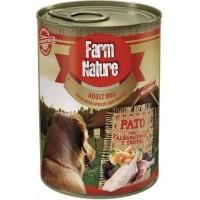 Pâtée FARM NATURE Canard, Abricot & Truffe Sans Céréales pour Chien Adulte - 2 formats disponibles