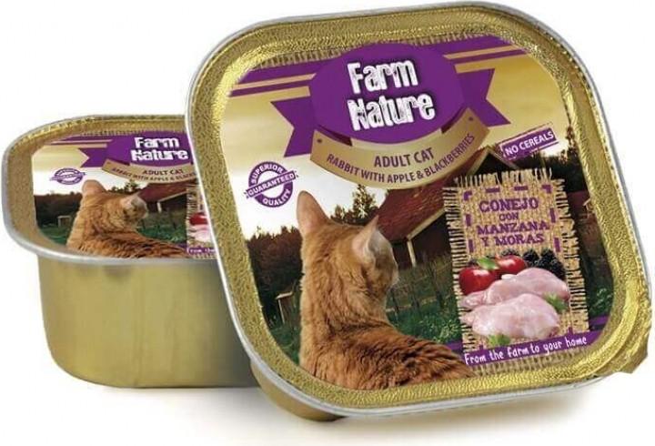 Nassfutter FARM NATURE Ohne Getreide 100g für Adult Katzen - 4 Geschmacksrichtungen zur Auswahl