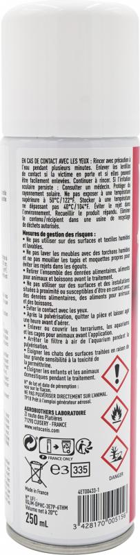 Vetocanis spray insecticide habitat - Anti-puces, Anti-aoûtat et acariens