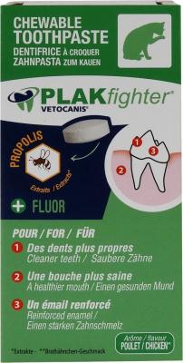 Vétocanis - Dentifrice à croquer Plak Fighter pour chat