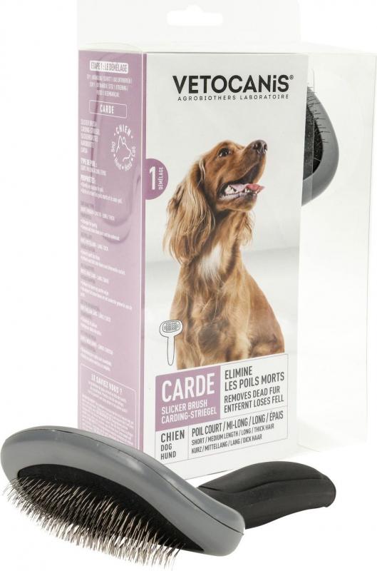 Vétocanis Brosse carde pour moyen / grand chien