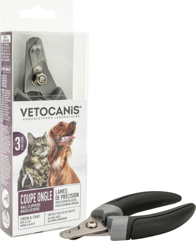 Vétocanis Coupe ongles 2 tailles pour chien
