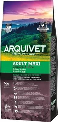 ARQUIVET Adult MAXI au Poulet & riz pour Chien Adulte de Grande Taille