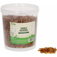 Mealworms Iako Natural treats for chickens / birds / small animals - 400g or 5kg