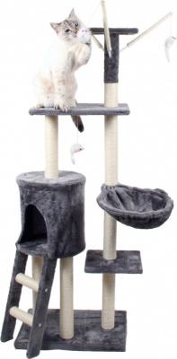Arbre à chat station de jeu complète et de couchage Zolia Joy - 138cm
