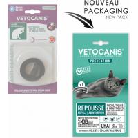 Vétocanis coleira antiparasitário para gatos
