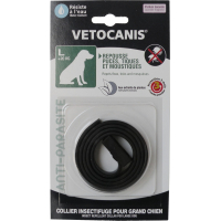 Vetocanis collier antiparasitaire pour chien