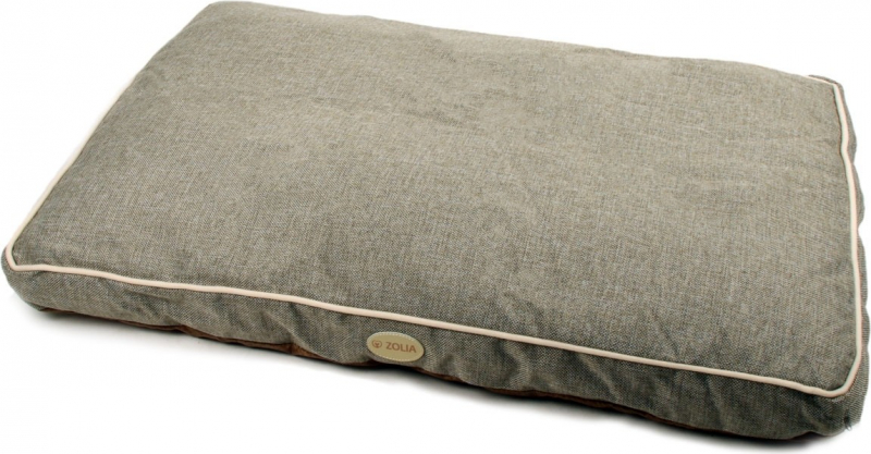Coussin antidérapant Gris Zolia Darcy - 90cm