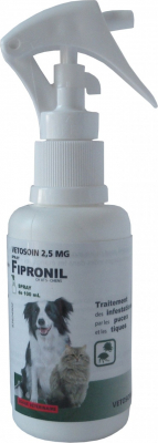 Vétosoin spray Fipronil pour chien ou chat