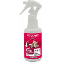 VETOSOIN Spray Action Anti-Puces Anti-Tiques au Fipronil pour Chat