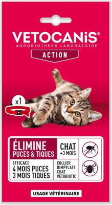 Vétobiotic collare Dimpilato per gatti