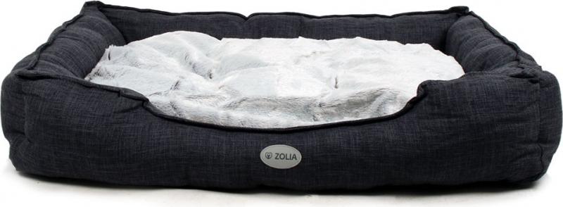 Panier Gris chiné foncé pour chien Zolia Azume