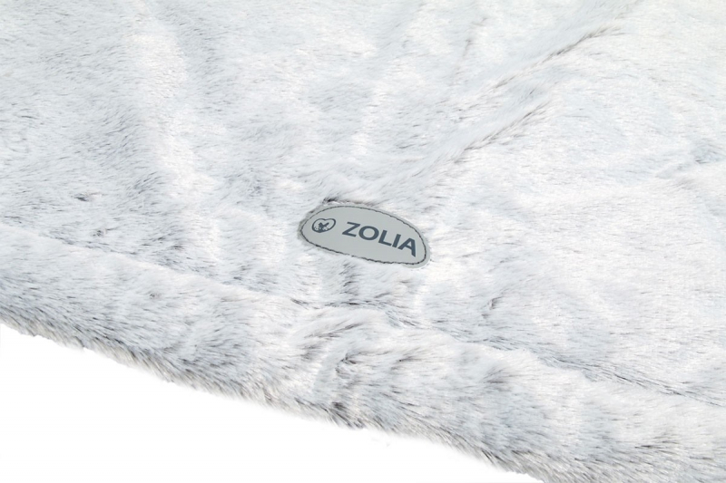 Tapis Gris Zolia Cocooning - 115cm