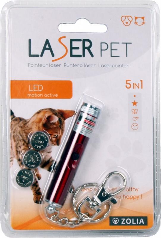 Jouet pour chat ou chien Pointeur Laser Zolia